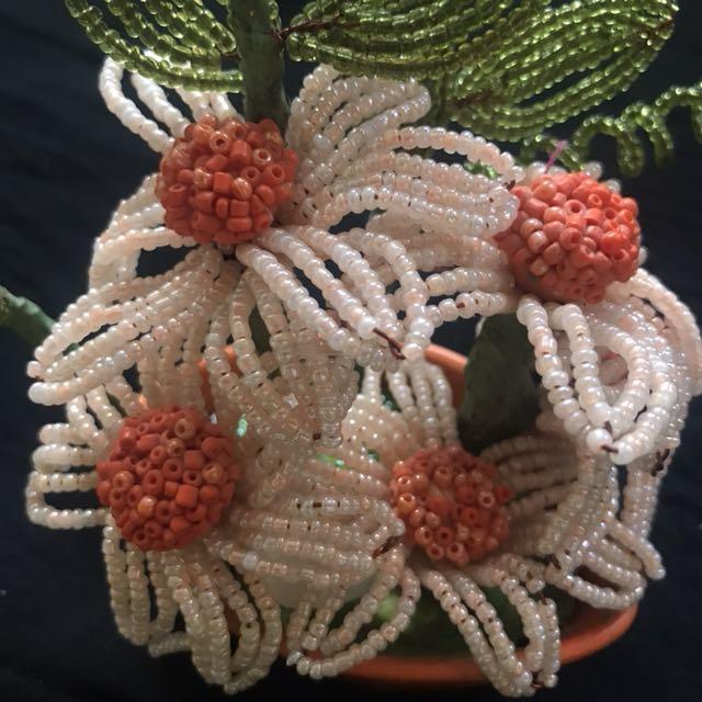 Handmade flower decoration piece
