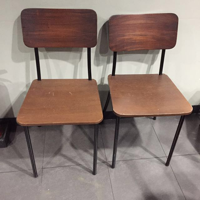 Heima Wooden Chairs Set of 2