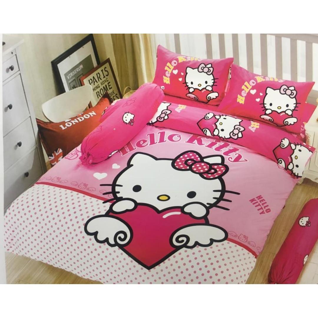 Hello Kitty 6/1 bedsheet