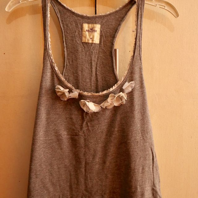 HOLLISTER Tank Top in Gray