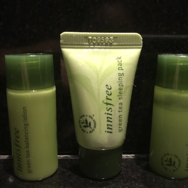 Innisfree green tea (trial pack)