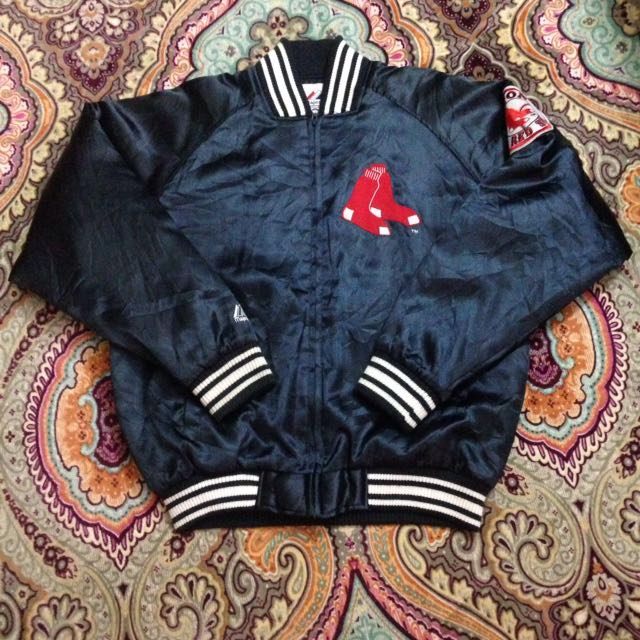 Jacket red sox