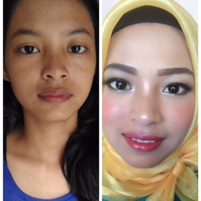 Jasa make up wisuda dan party