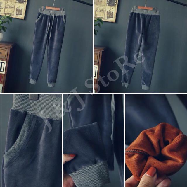 JR0160 - 加絨休閒褲