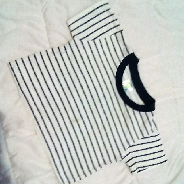Kaos Navy Stripes 6-9m