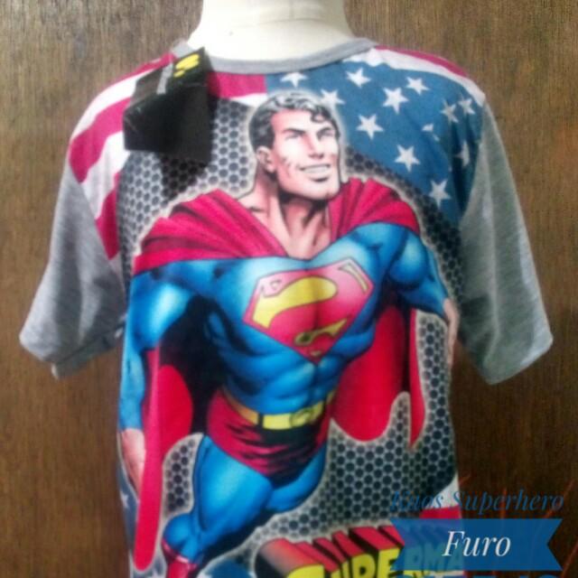 Kaos Superhero Furo
