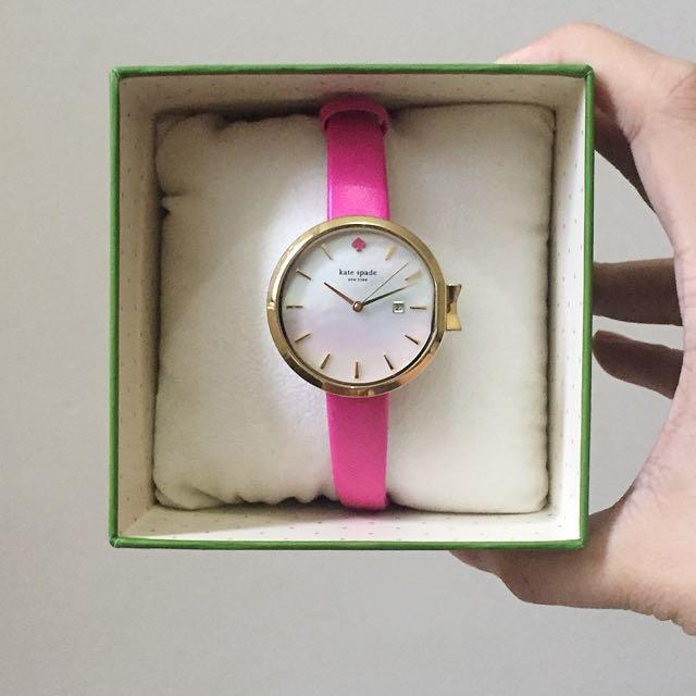 Kate Spade Park Row Leather Watch (Original)