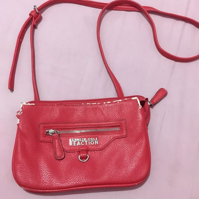 Keneth Cole Reaction Red Mini Slingbag