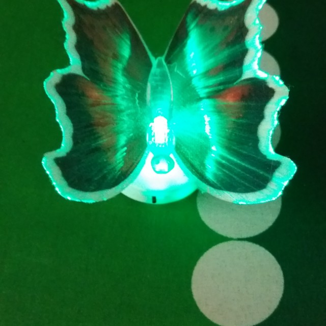 Led 3d Butterfly