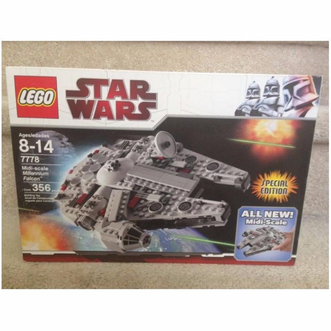 LEGO Star Wars midi Millennium Falcon 7778 han solo BNIB