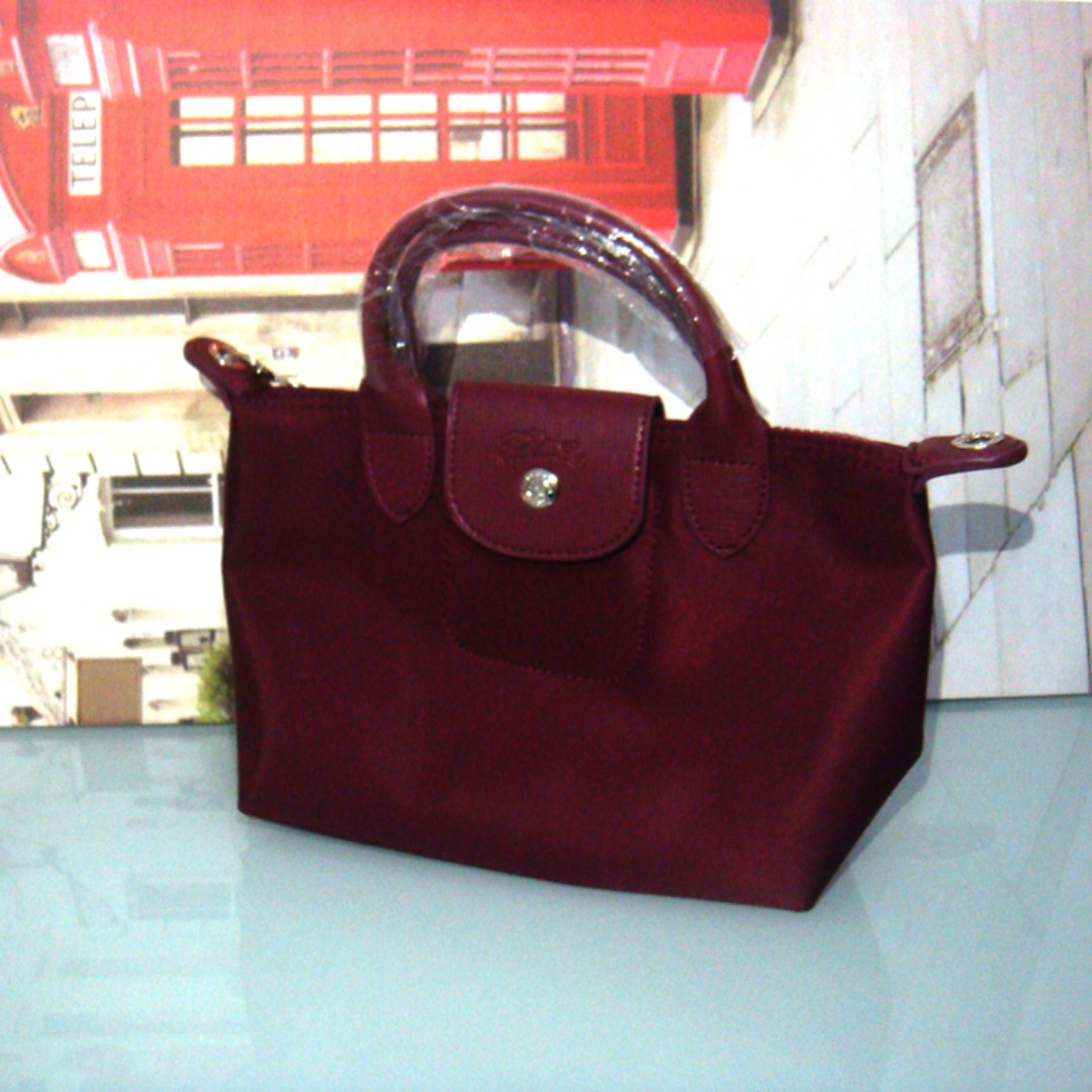 Longchamp mini sling 10 x 7 inches fbb6cf63566e1
