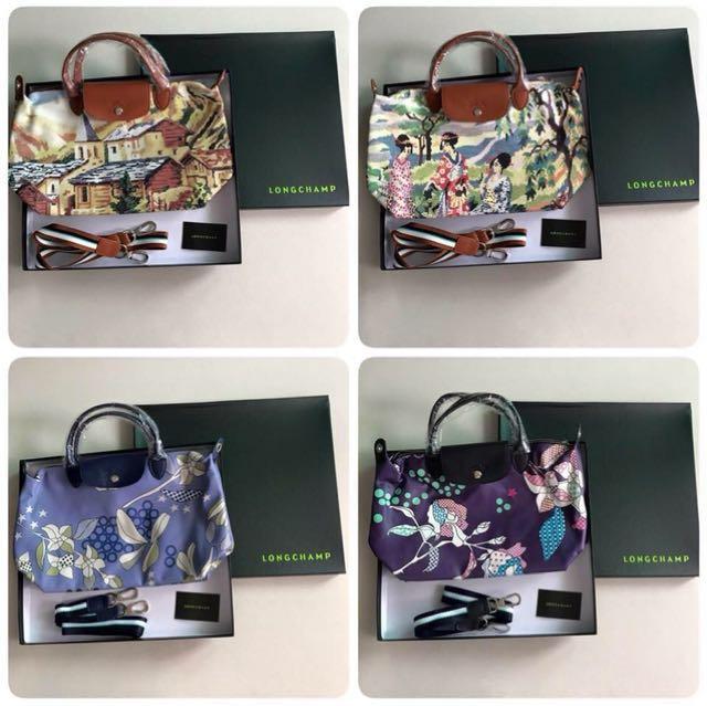 Longchamp Printed with box