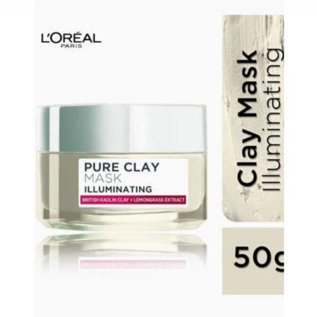 L'oreal Paris Pure Clay Mask - Illuminating