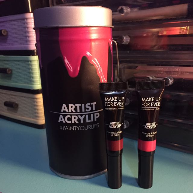 Make up for ever acrylip
