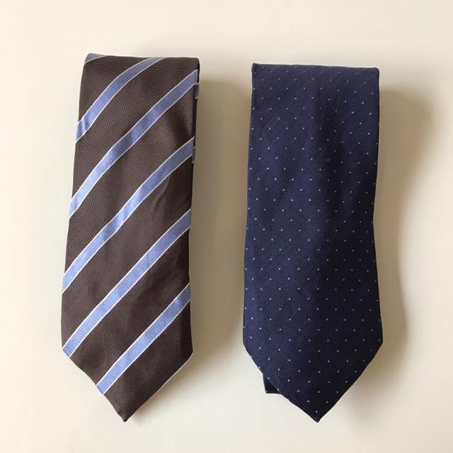 f53fab153b06 Massimo Dutti neck ties, Men's Fashion, Accessories on Carousell