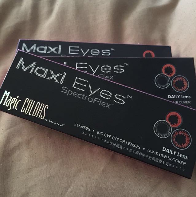 Maxi Eyes Daily Color Lens x 3