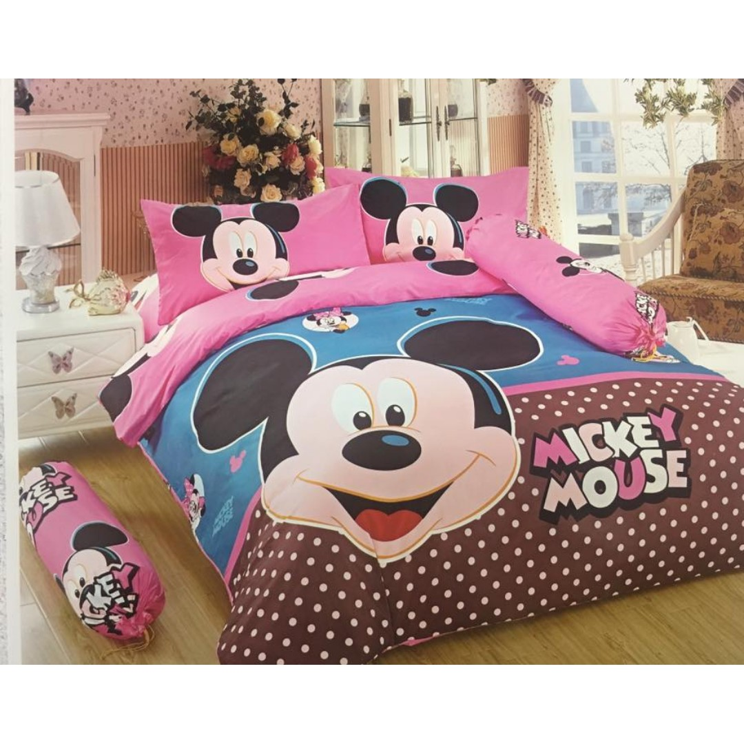 Mickey Mouse 6/1 bedsheet