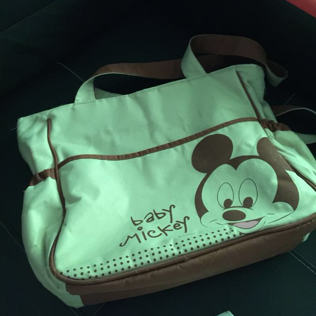 MICKEY MOUSE DIAPER BAG (authentic)