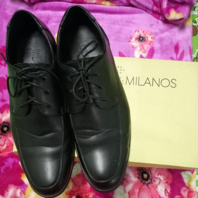 MILANOS Black Shoes