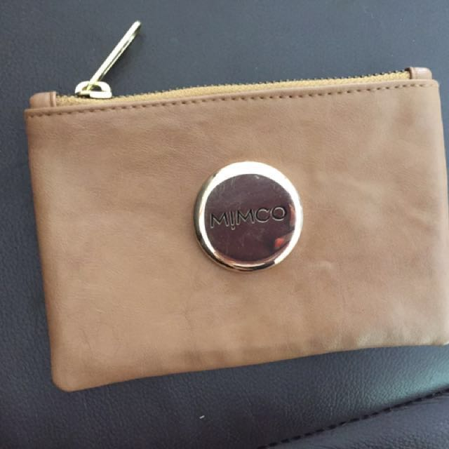 Mimco Pouch Faux leather