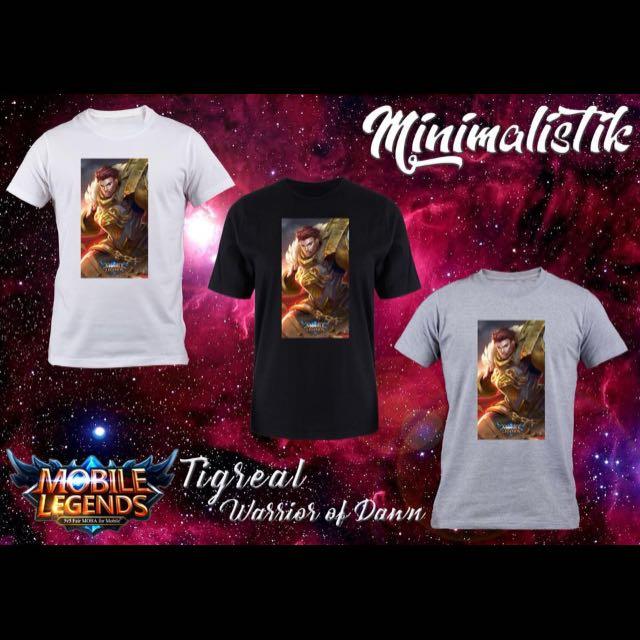Mobile legend shirt unisex