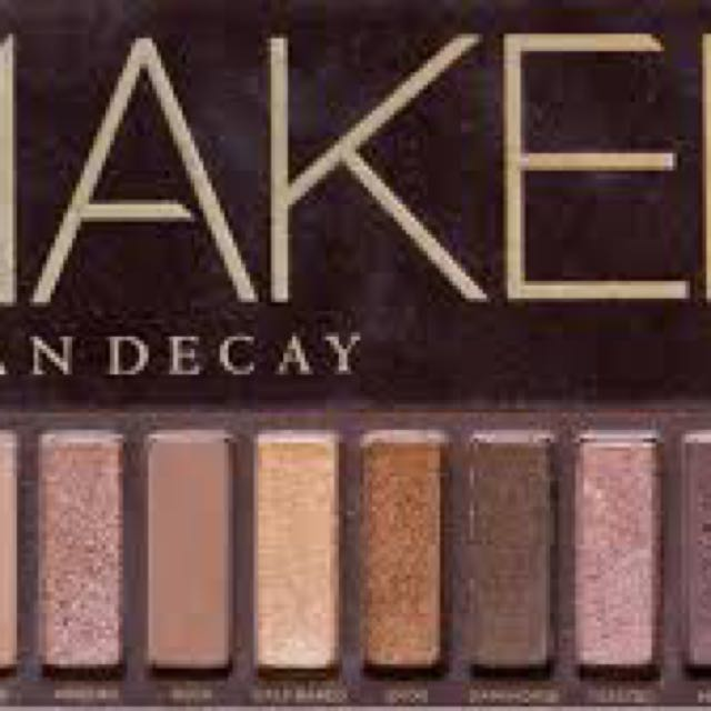 Naked and Naked 2 palette for sale.