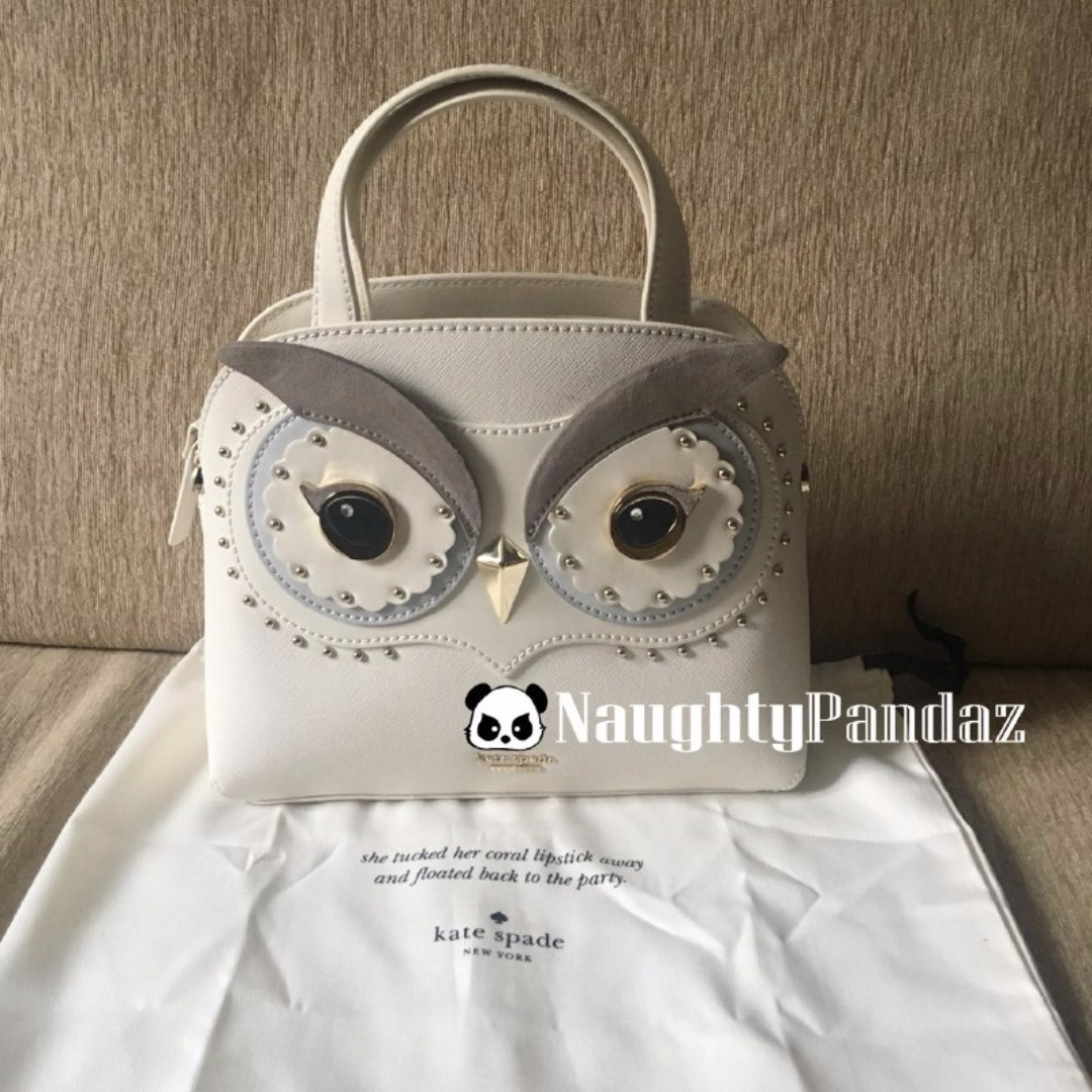 fb9cf491d8833 NaughtyPandaz生活百貨Kate Spade Star Bright Owl Small Lottie with ...