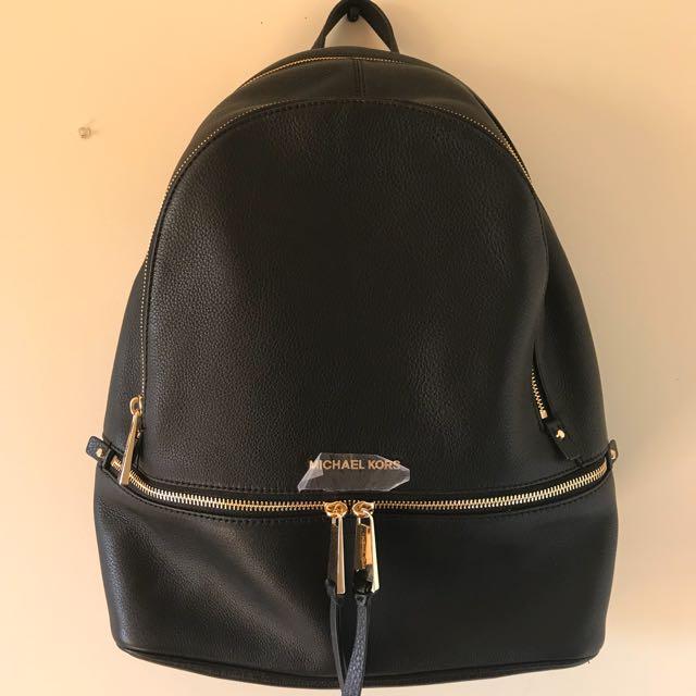 New Michael Kors Rhea Backpack Large