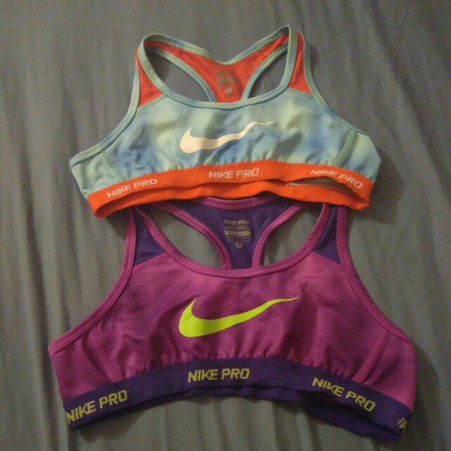 ***REDUCED***Nike Pro sports bras