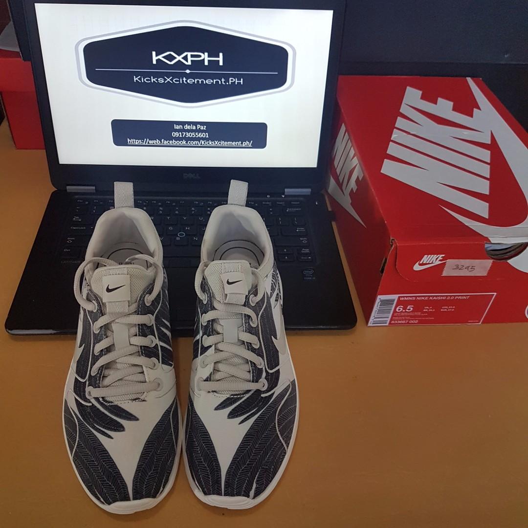 pretty nice a7f29 9df52 Nike Womens Kaishi 2.0 print US size 6.6, Women s Fashion, Shoes on ...