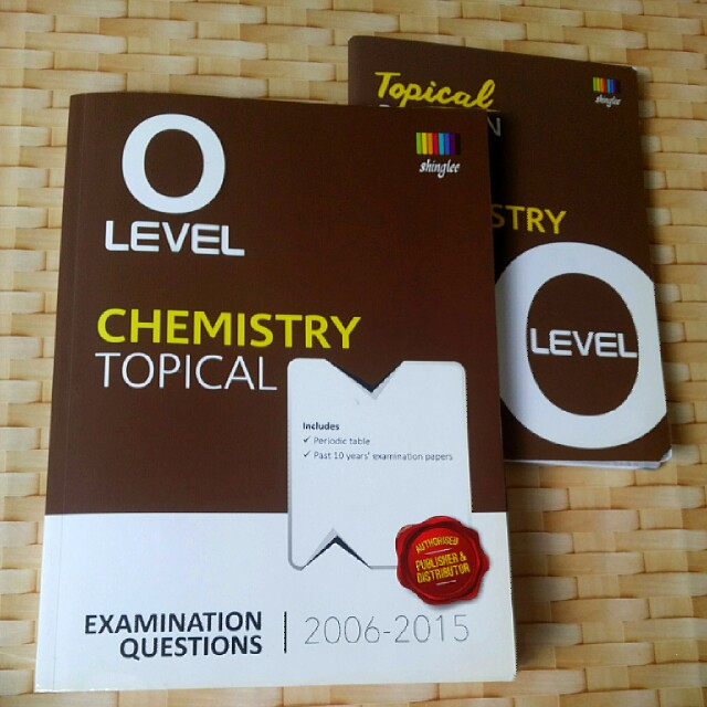 O level chemistry topical ten years series tys 2015 2006 books photo photo photo fandeluxe Image collections