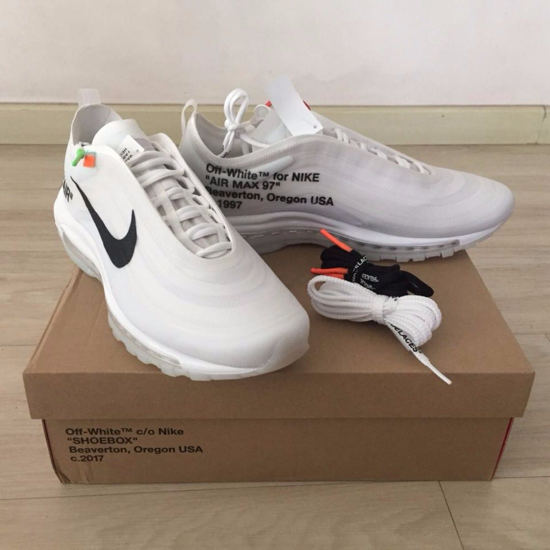 Off White x Nike Air Max 97 OG 53952e27c