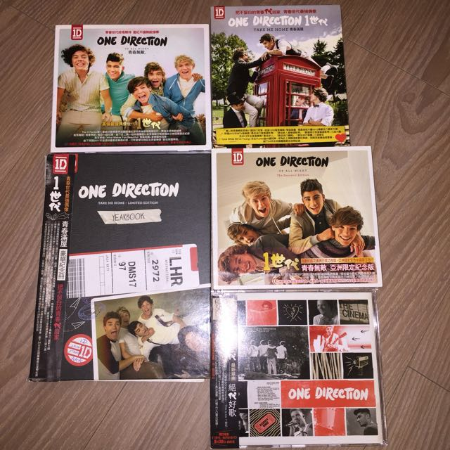 One Direction CD / 紀念冊