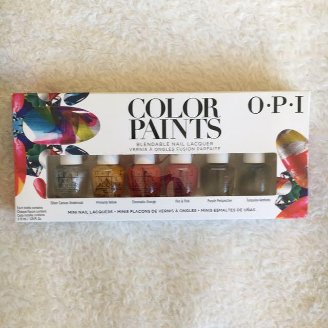 OPI colour paints