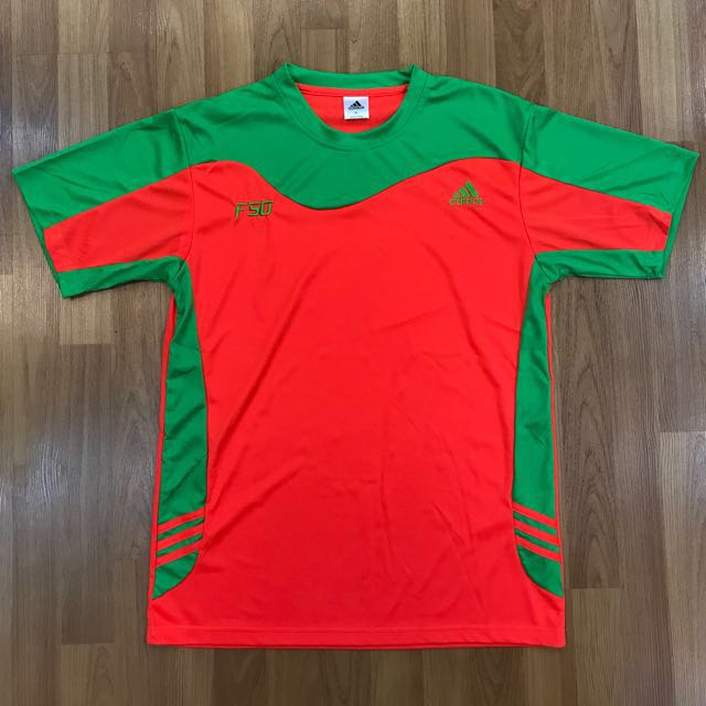 910eaa7dced4 Orange Green Adidas F50 jersey, Sports, Athletic & Sports Clothing ...