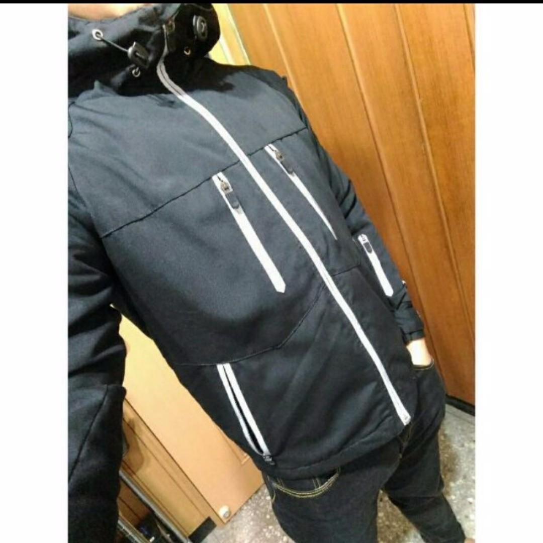 【重上架】【降價售】OutDoor 絨毛 3M 反光連帽風衣外套