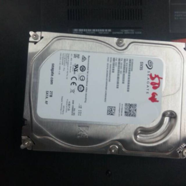 Pc hard disk 2tb with warrenty very gud price