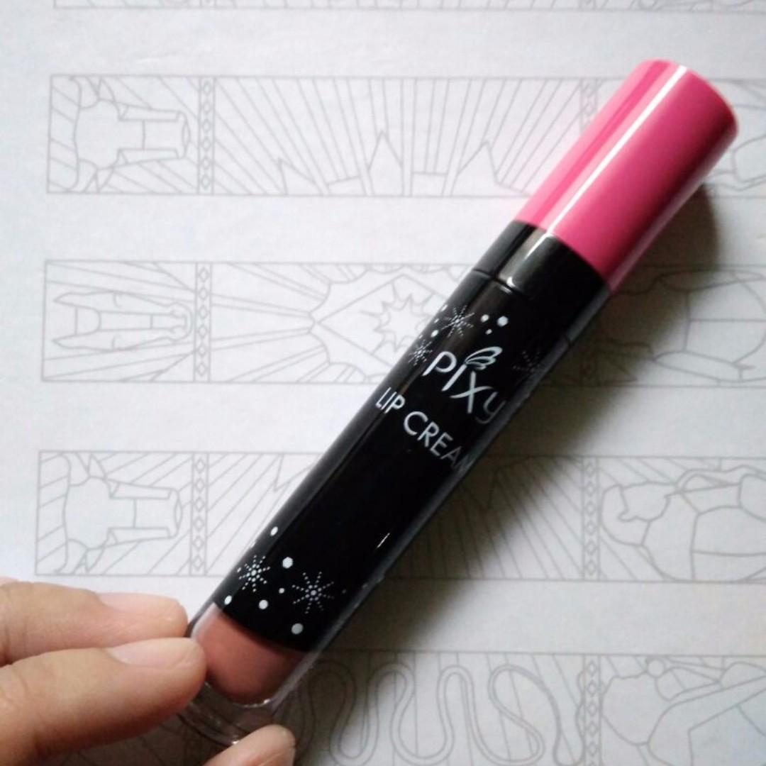 Pixy Lipcream Nude Glam Coral 09
