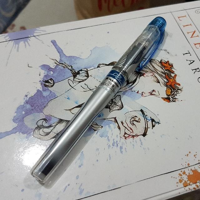 Platinum Preppy Fountain Pen Extra Fine Nib 02 (Blue Black)