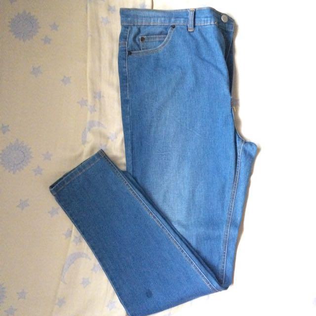 Plus Size Maong Pants
