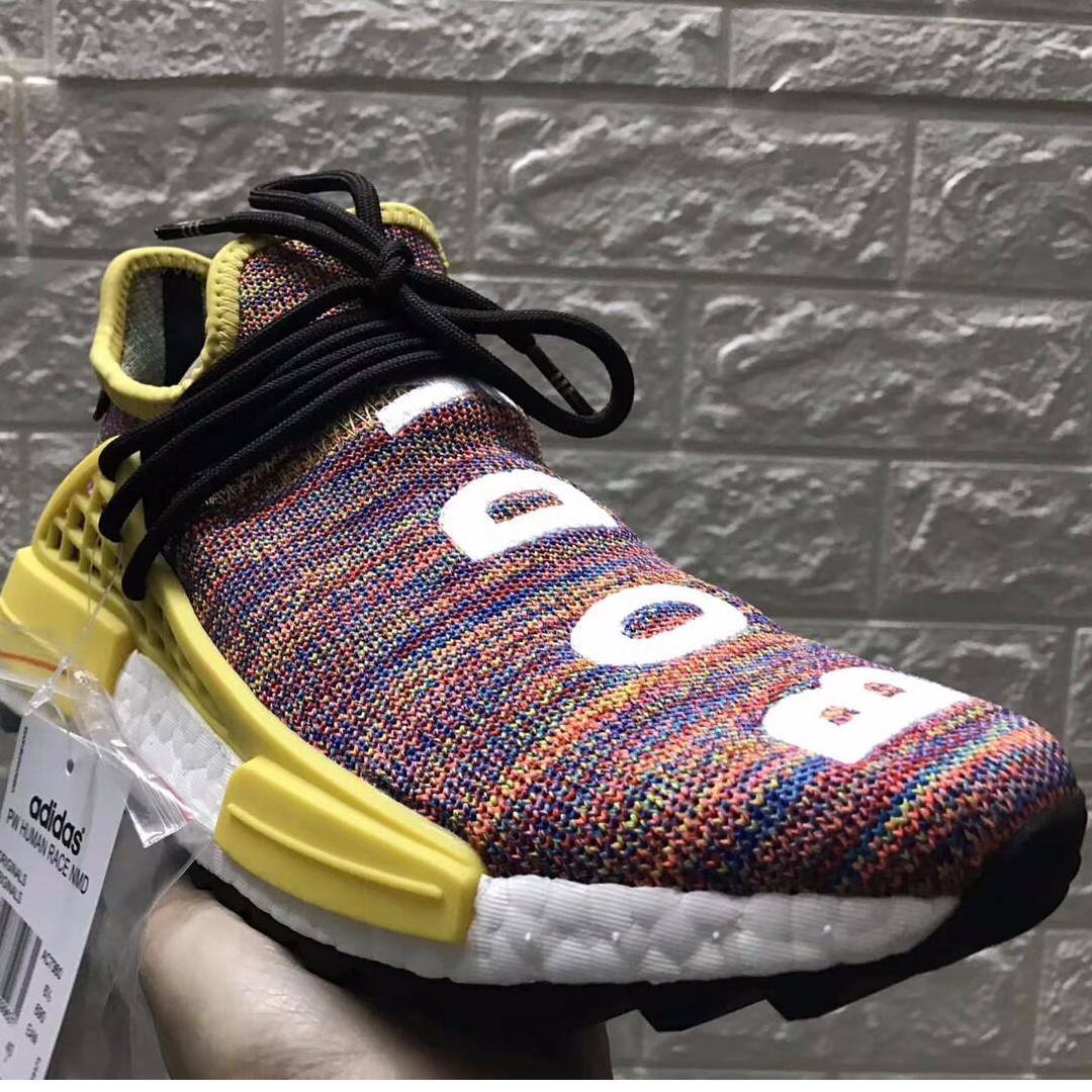 the best attitude d3e1e 90eac [PO] UA adidas NMD x Pharell - Human Race Trail - Multicolor 🔥