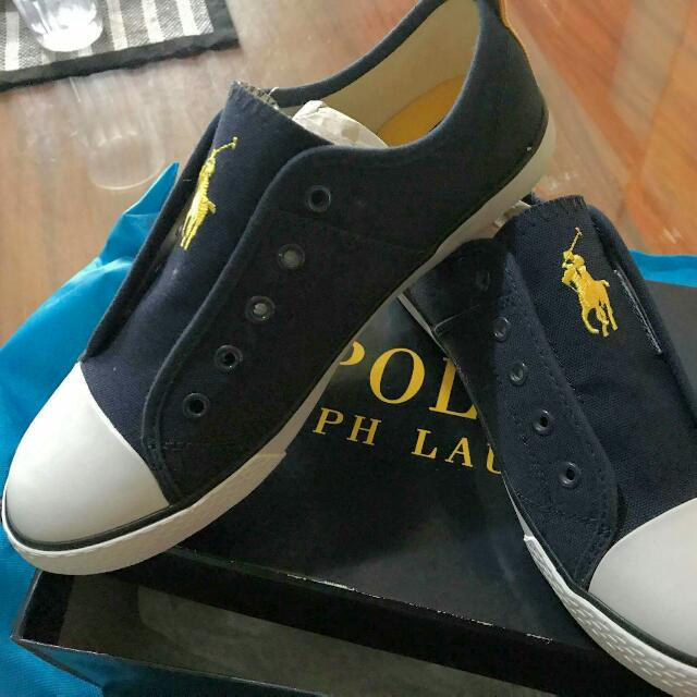 Polo Ralph Lauren Navy Raymons Slip On