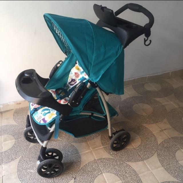 Preloved stroller graco