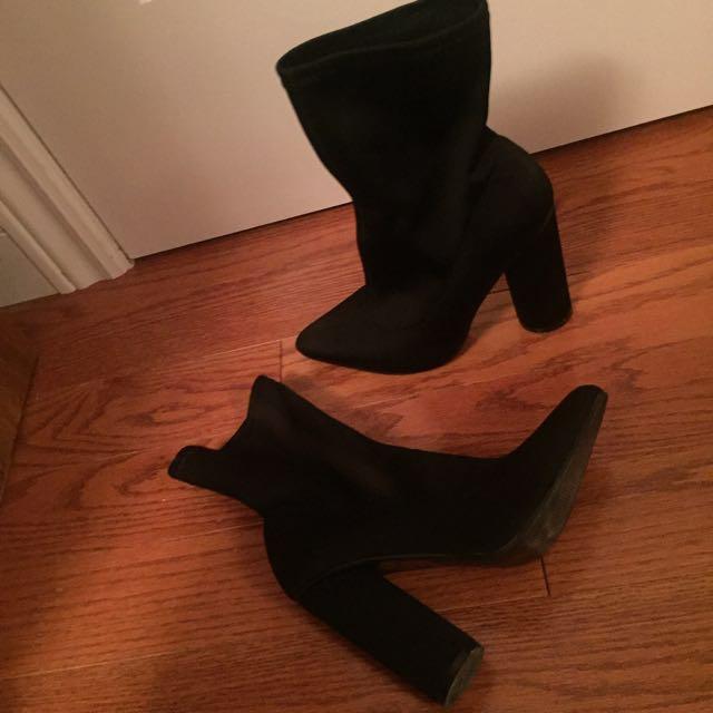 Public Desire sock boots