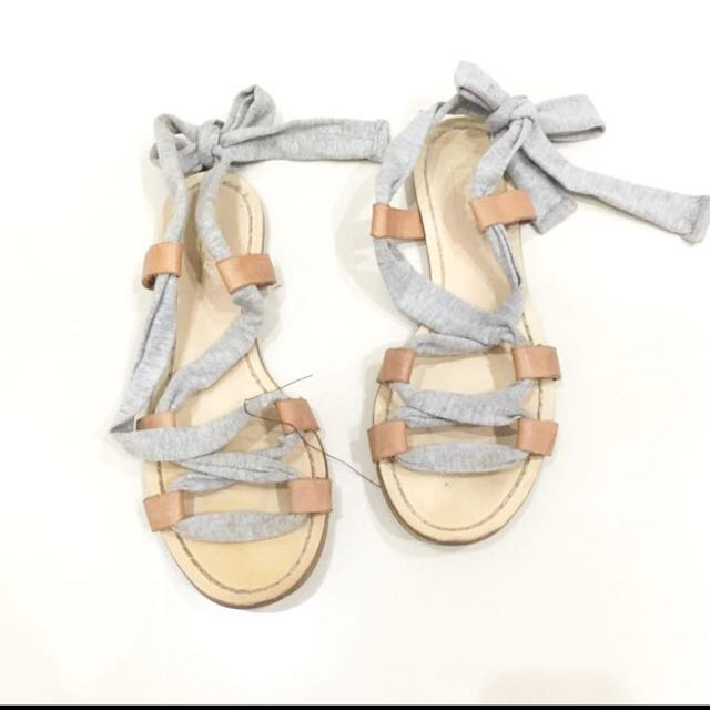 Pull n bear lace up sandals