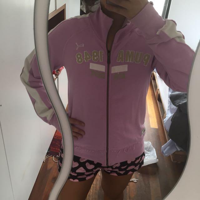 PUMA Zip up sports jacket