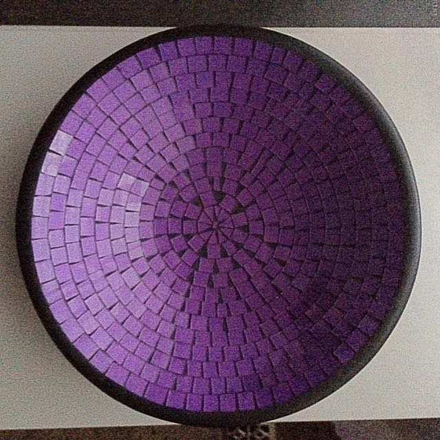 Purple Ceramic Bowl