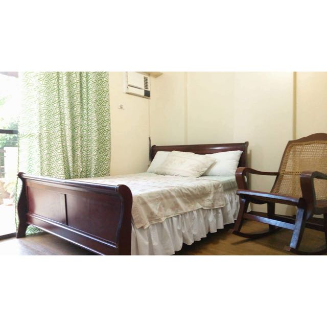 Queen Size Bed - Solid Wood
