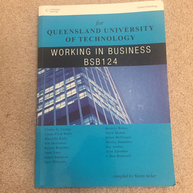 QUT - working in business