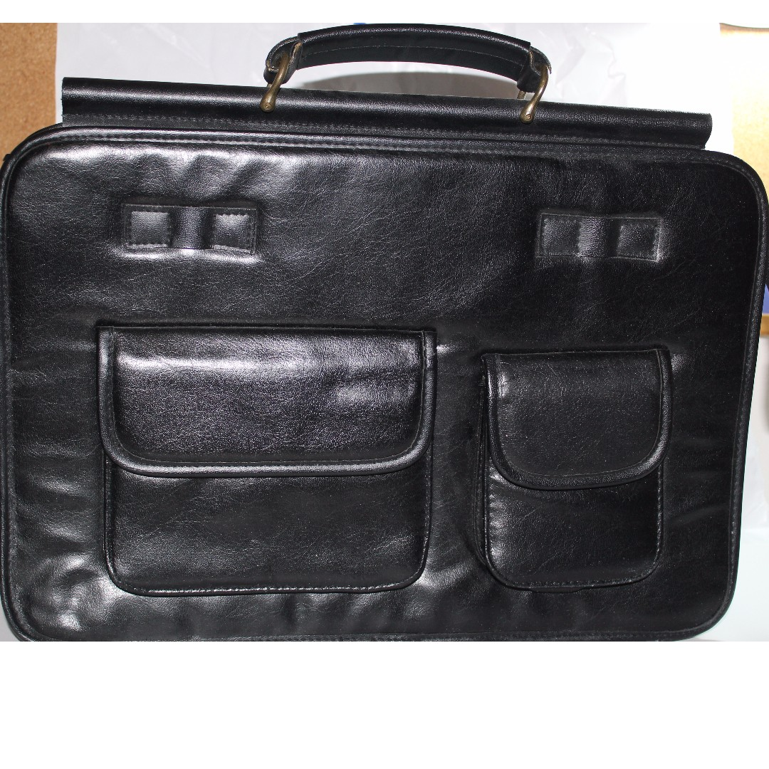 Real leather work bag